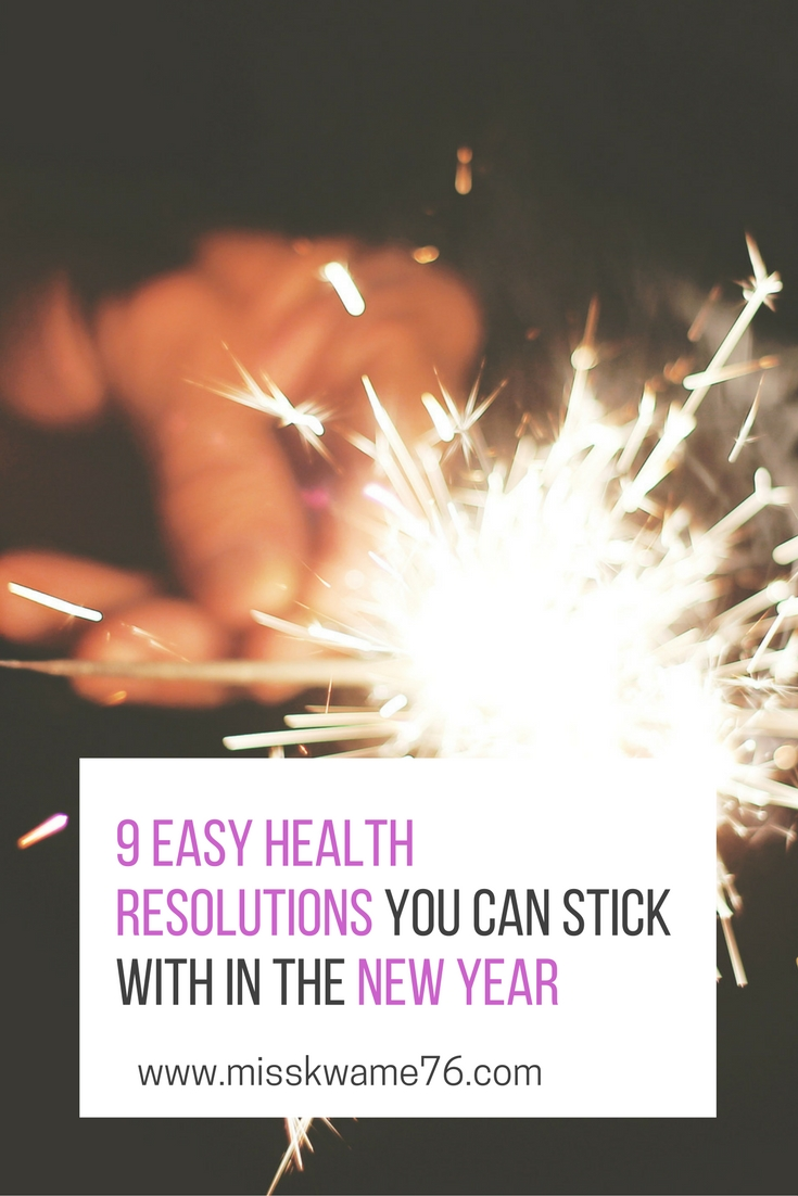 9 Easy Health Resolutions You Can Stick With in the New Year