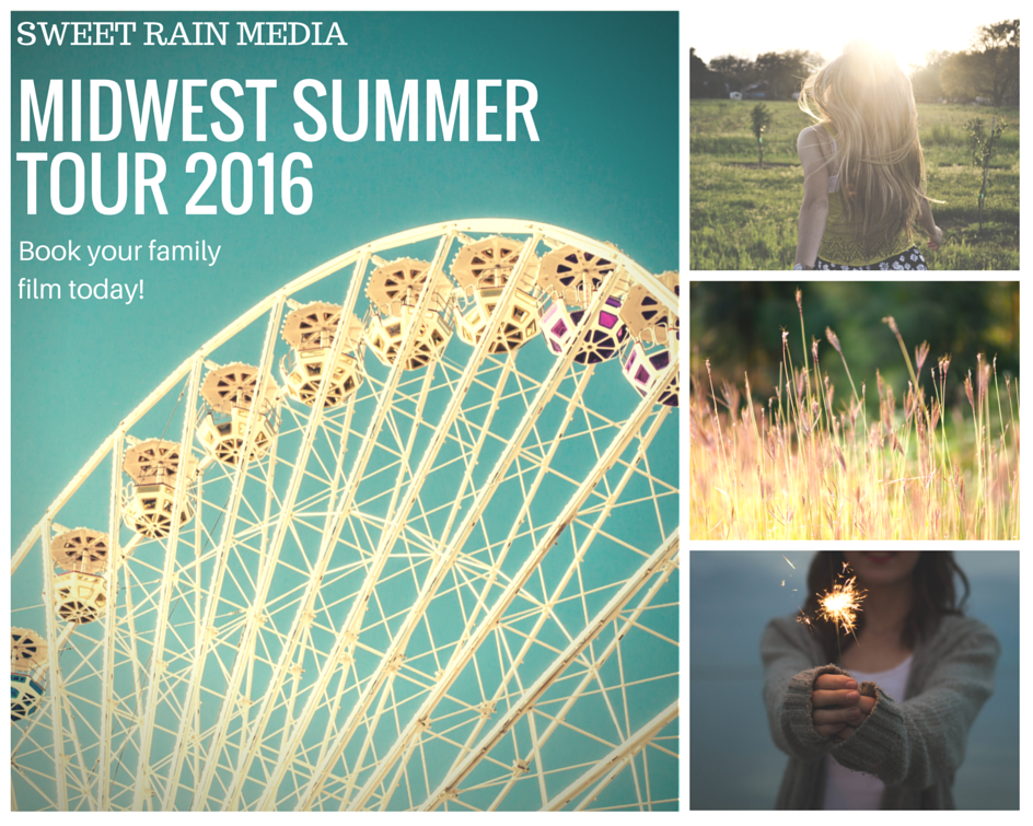 Sweet Rain Media Midwest Summer Tour 2016