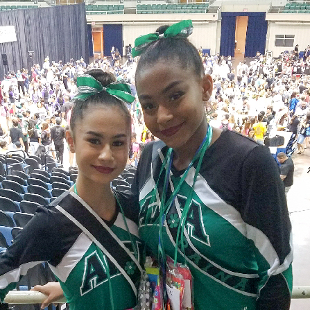 Aiea High School Cheerleaders State Championship 2017-1