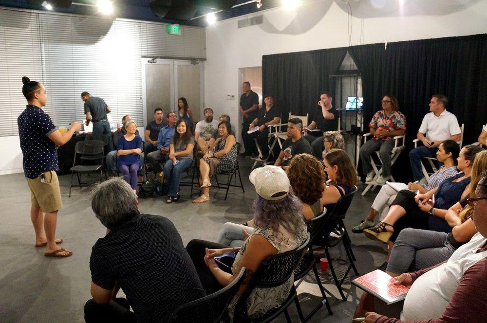 Hawaii Filmmakers Collective Pitch Meeting Hawaii Filmmaker