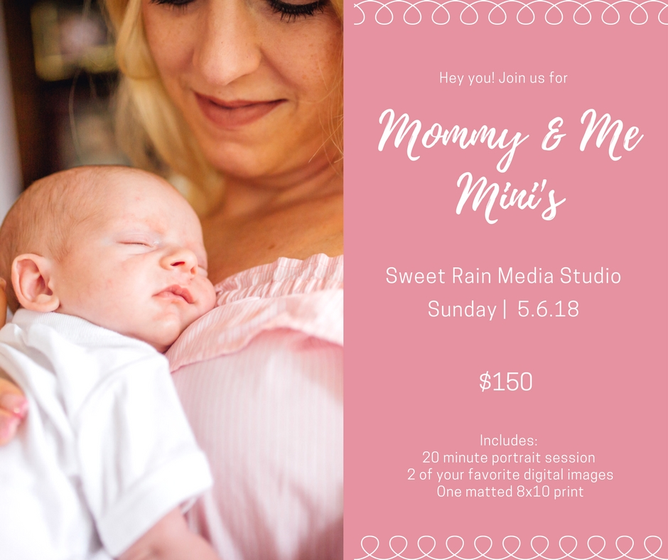 Mommy and Me Mini Photoshoot Hawaii Photographer Sweet Rain Studio