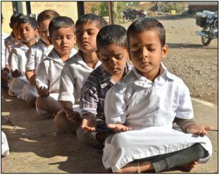 Preschoolers In Dahigaon