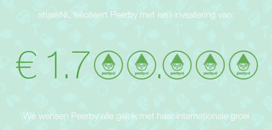 shareNL   Peerby   gefeliciteerd   30 10 2014
