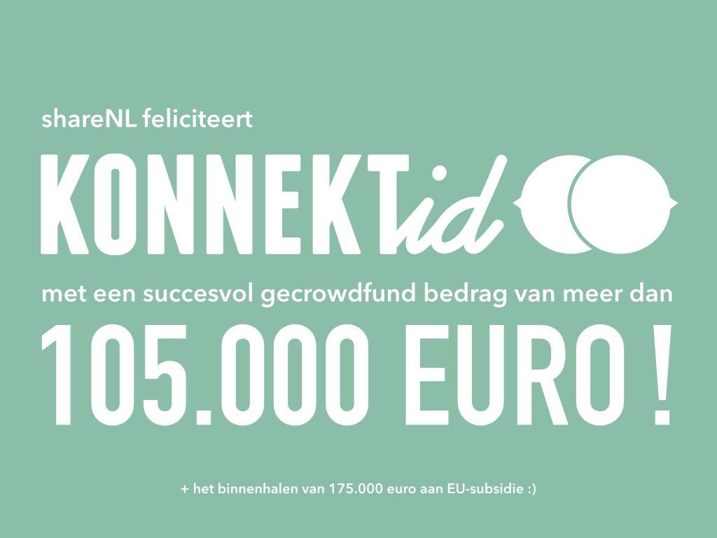 shareNL | Konnektid | crowdfunding 105000 | 10 12 2014