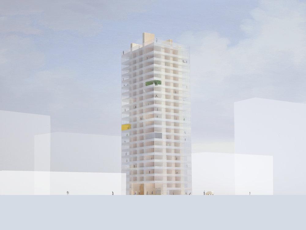 Figuur 1: Holon House. © OJO/ Office Jarrik Ouburg en FreyH.