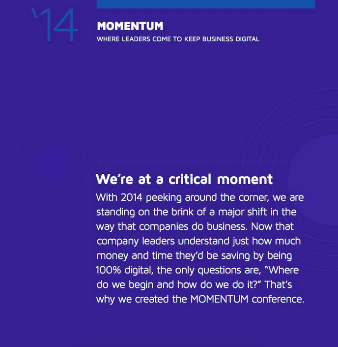 DocuSign: MOMENTUM Design & Copy