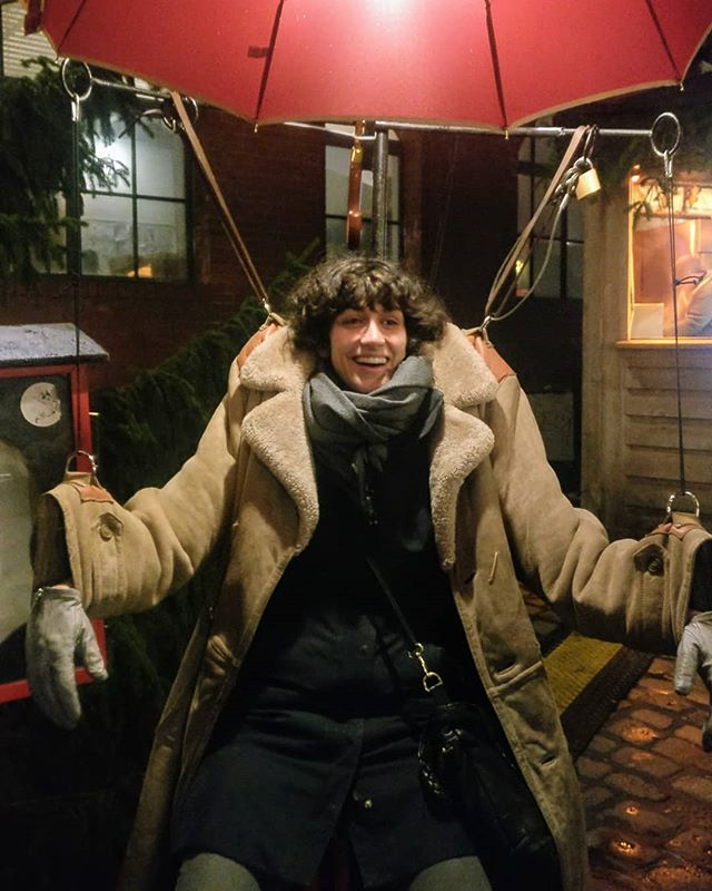 Coat puppet.