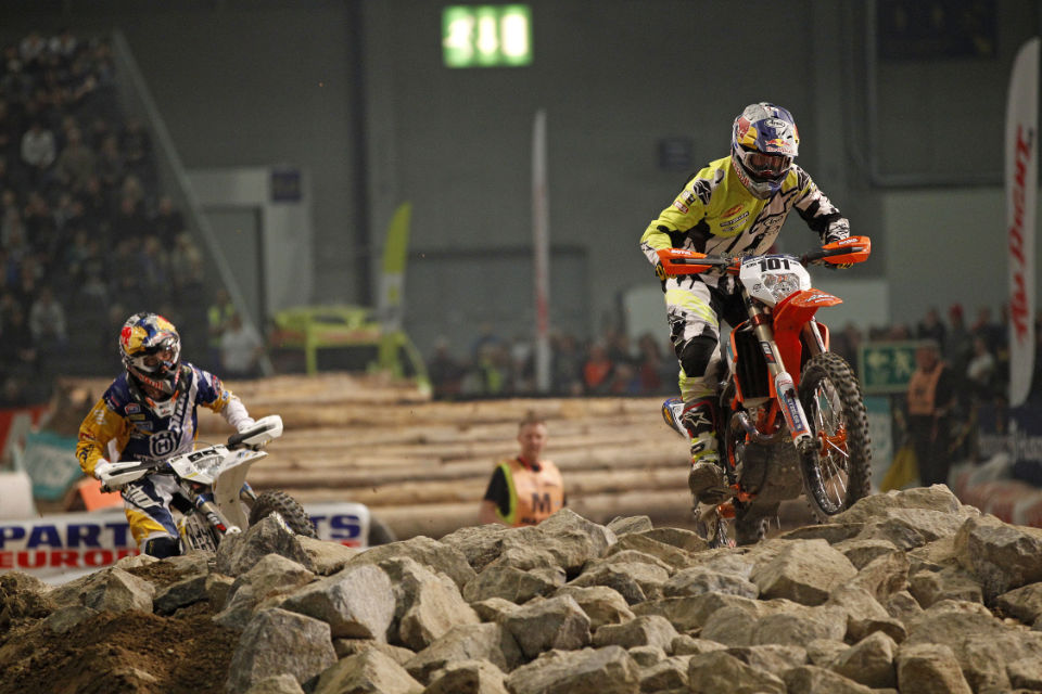 David Knight had a mixed night but still managed 4th overall. Photo - Enduro21.com