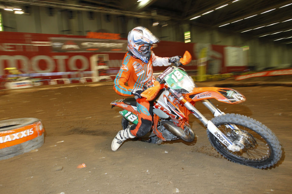 Jack Edmondson continues to impress in the Junior class. Photo - Enduro21.com