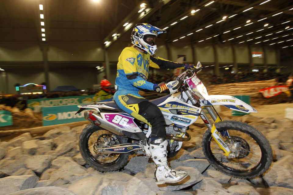 Jane Daniels was hoping for more in Finland but wrapped up 3rd overall in the Championship. Photo - Enduro21.com