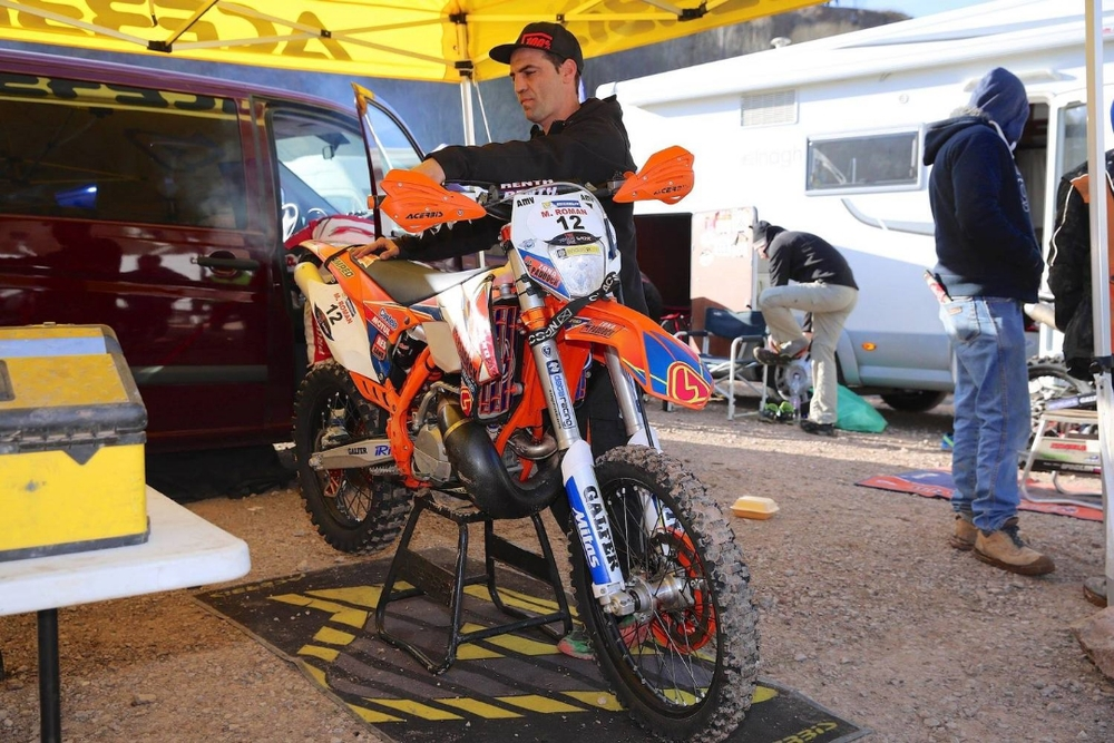 Mario Roman's KTM