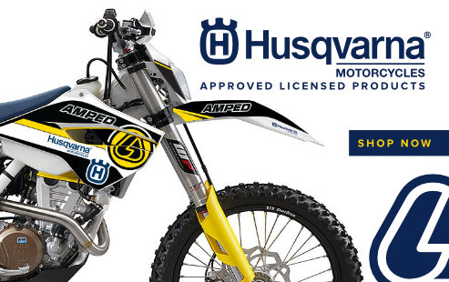 Approved Licensed Products of Husqvarna Motorcycles.