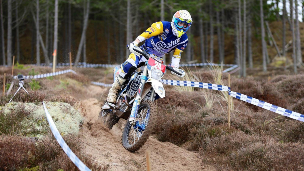 Jamie McCanney at Round 1 of the ACU Edmondson Racing British Enduro Championship - Photo Garry Barnes