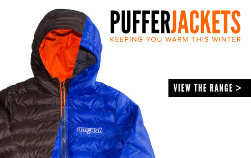Amped Puffer Jackets - Keeping you warm this winter