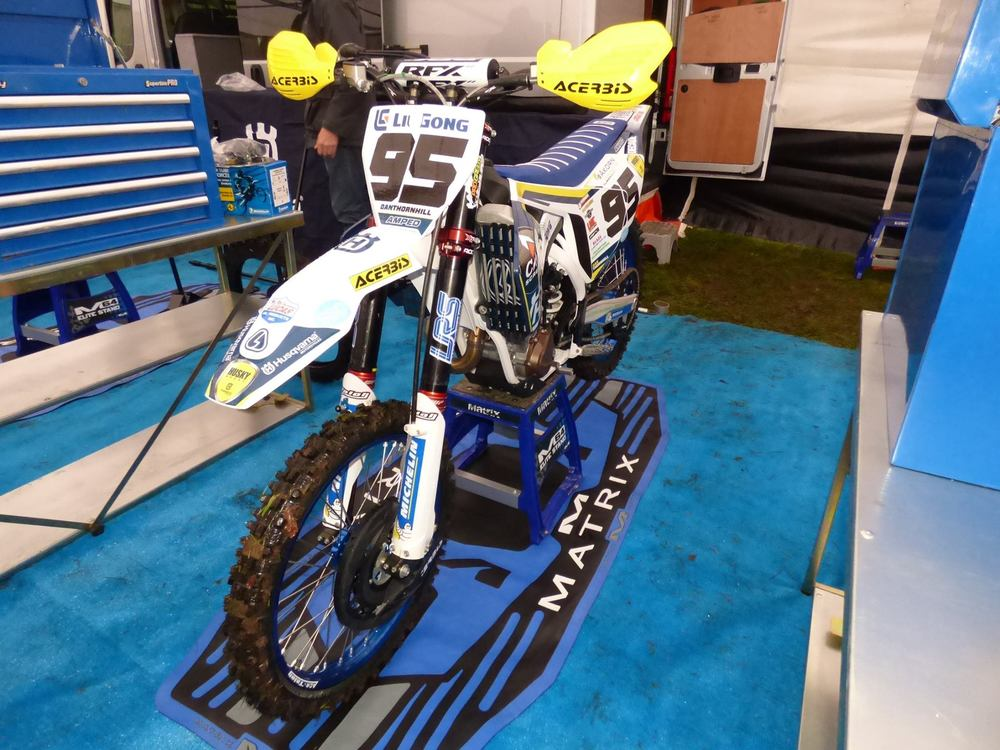 Dan Thornhill/Cab Screens Husqvarna