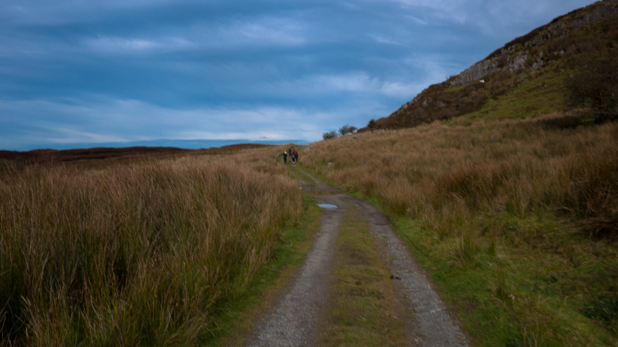 The road to Carrowkeel