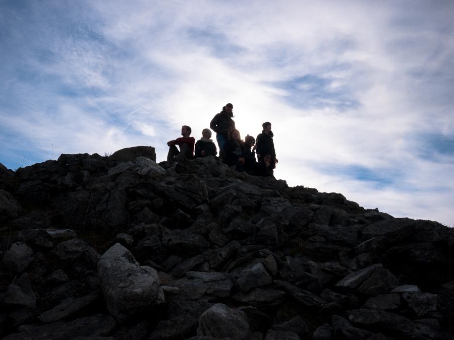 Climbing Carrowkeel