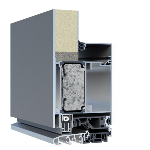 Standard-Füllung Stärke 40mm