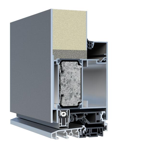 Wärmeschutz-Füllung Stärke 60mm