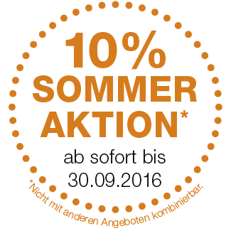 EgoKiefer 10 % Sommer Aktion
