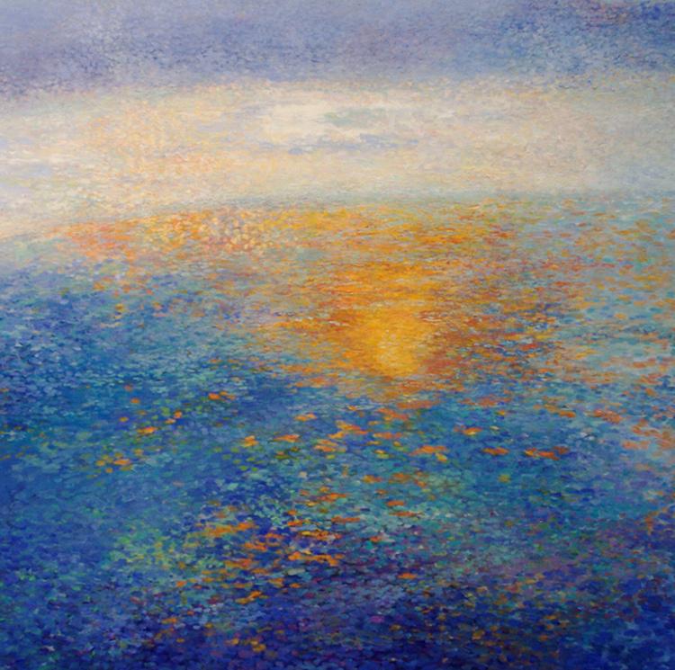 Cooper Lake Winter Sunset