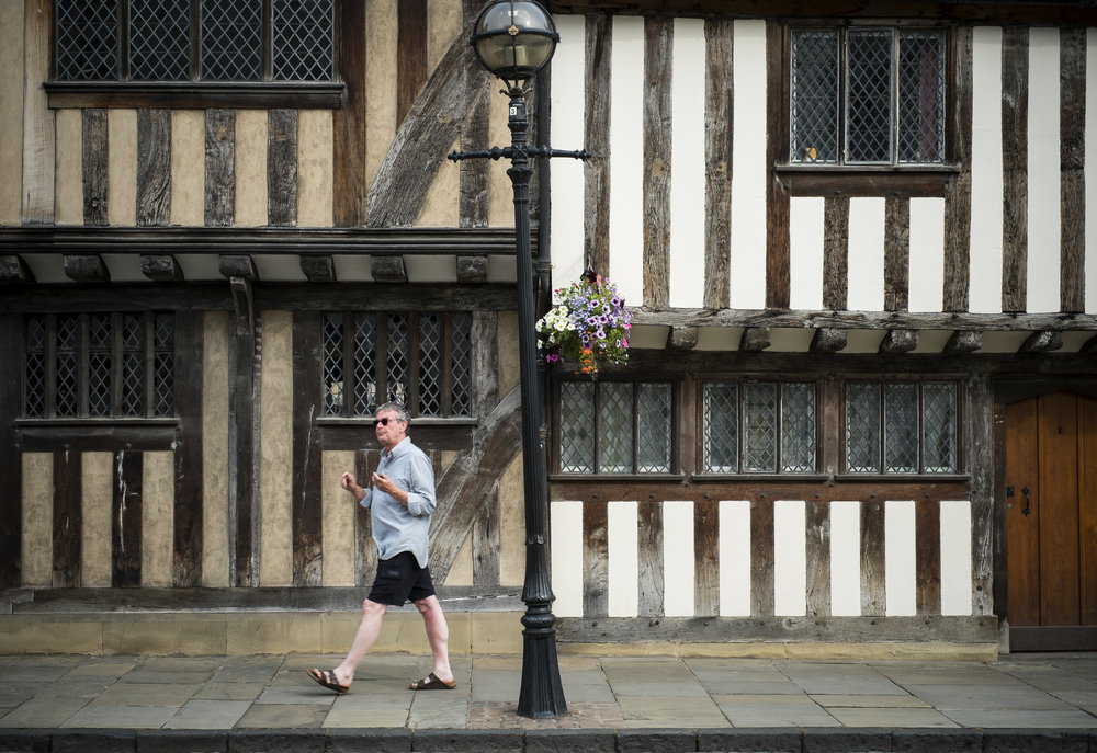 Timber frame buildings, Stratford upon Avon