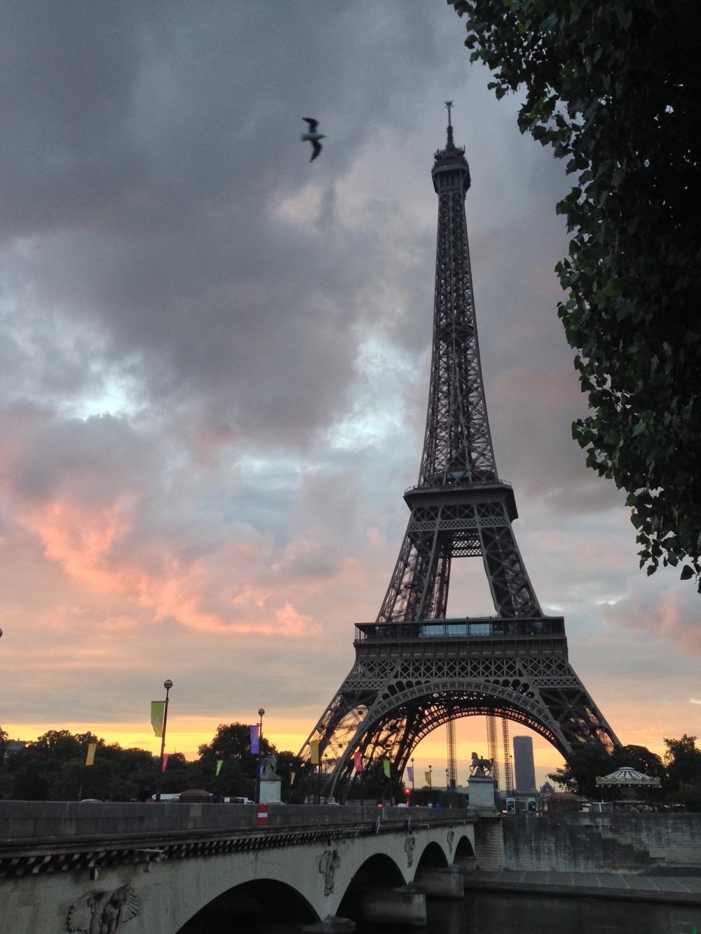 Eiffeltoren, dinsdagochtendom 7:30