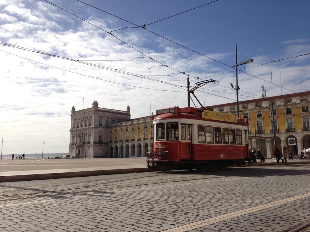 Eléctrico tram, Lissabon