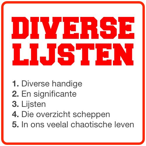Eerste logo van @diverselijsten (tot juni 2017, toen Twitter ronde ava's introduceerde)