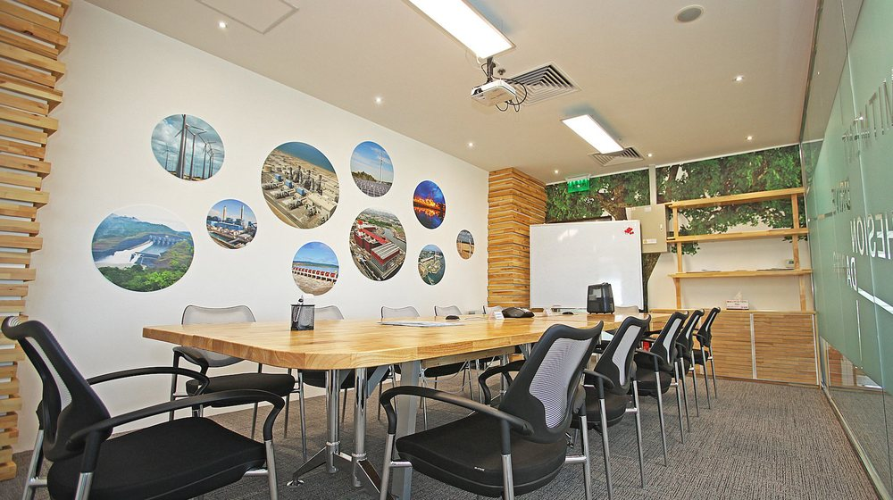 Branded Conference Room