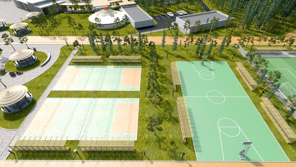 Sports & Activities Area
