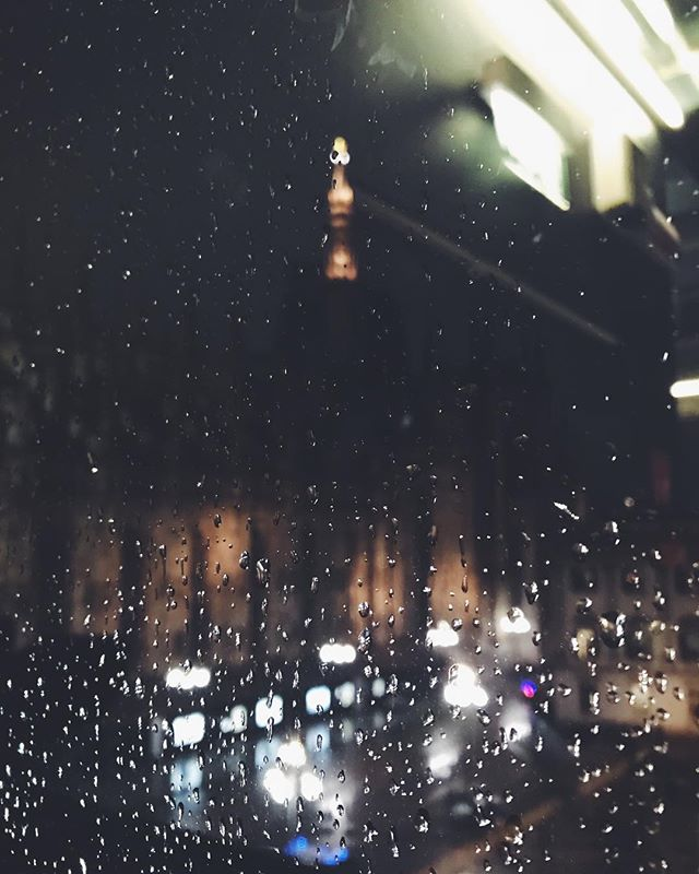 Il Duomo, on a rainy night.