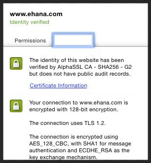 Secure — eHana
