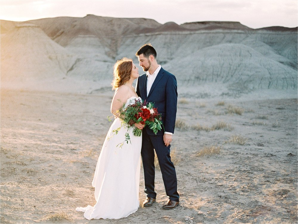 Sarah Jane Photography Fine art film phoenix scottsdale arizona wedding portrait photogragher painted desert elopement Missy and David_0015.jpg