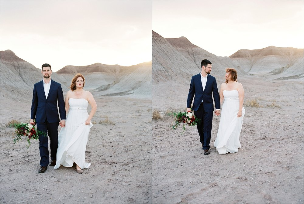 Sarah Jane Photography Fine art film phoenix scottsdale arizona wedding portrait photogragher painted desert elopement Missy and David_0020.jpg