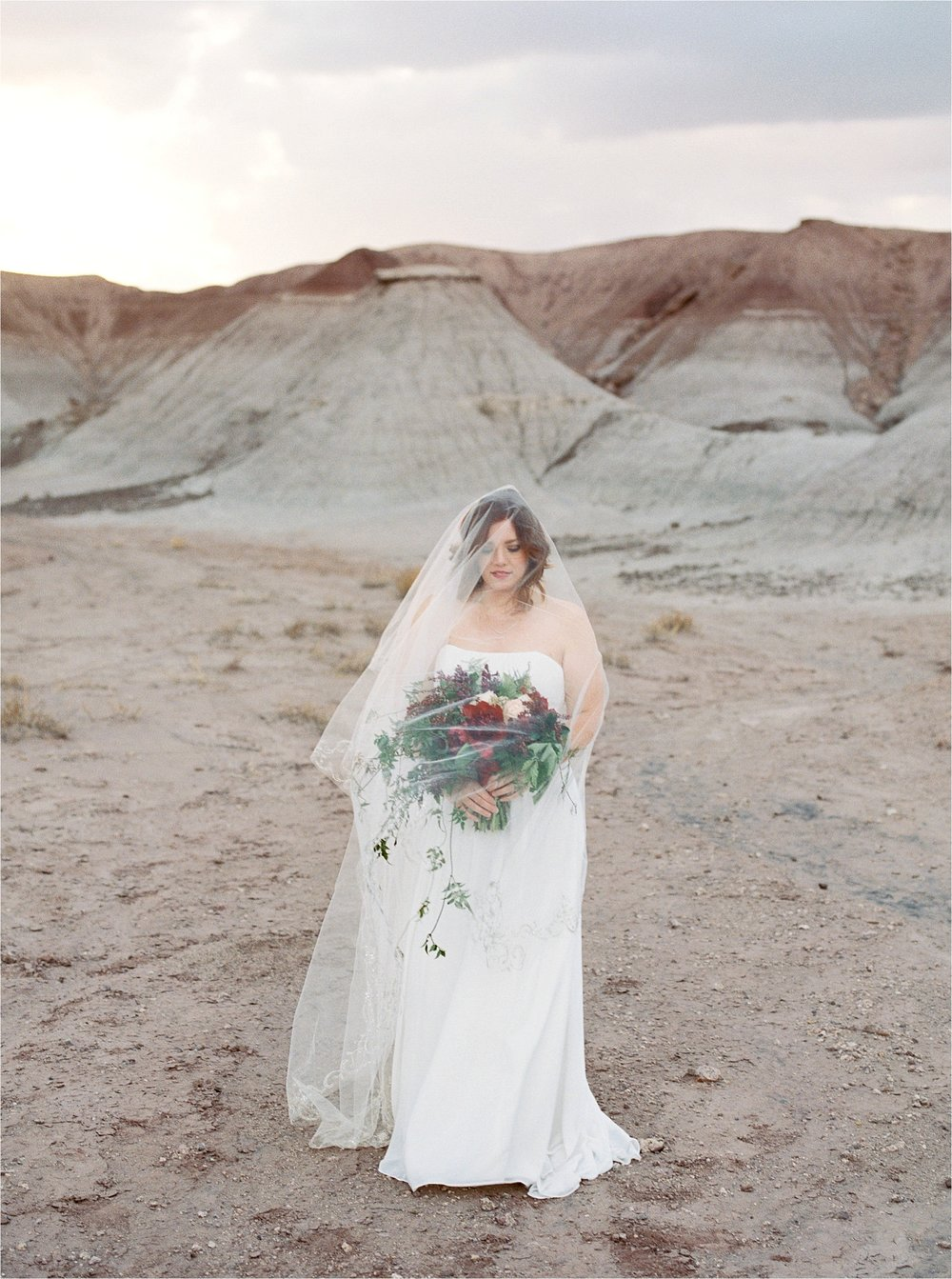 Sarah Jane Photography Fine art film phoenix scottsdale arizona wedding portrait photogragher painted desert elopement Missy and David_0021.jpg