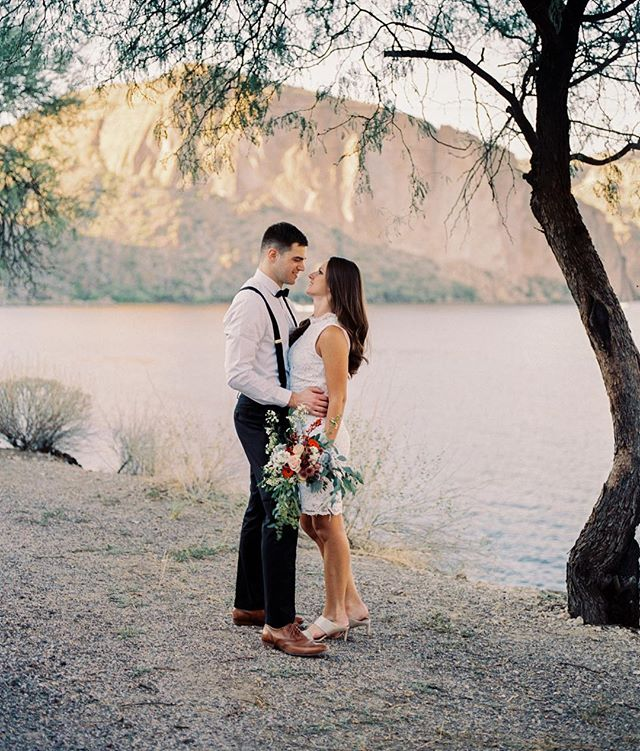 Reminiscing about Katie and Drew's elopement along the Apache Trail!!! Give me all the elopements....so intimate and special ❤️❤️ #lightandfilmaremyart #film #fujifilm #ishootfilm #elopement @photovisionprints @fujifilm_profilm @filmsupplyclub