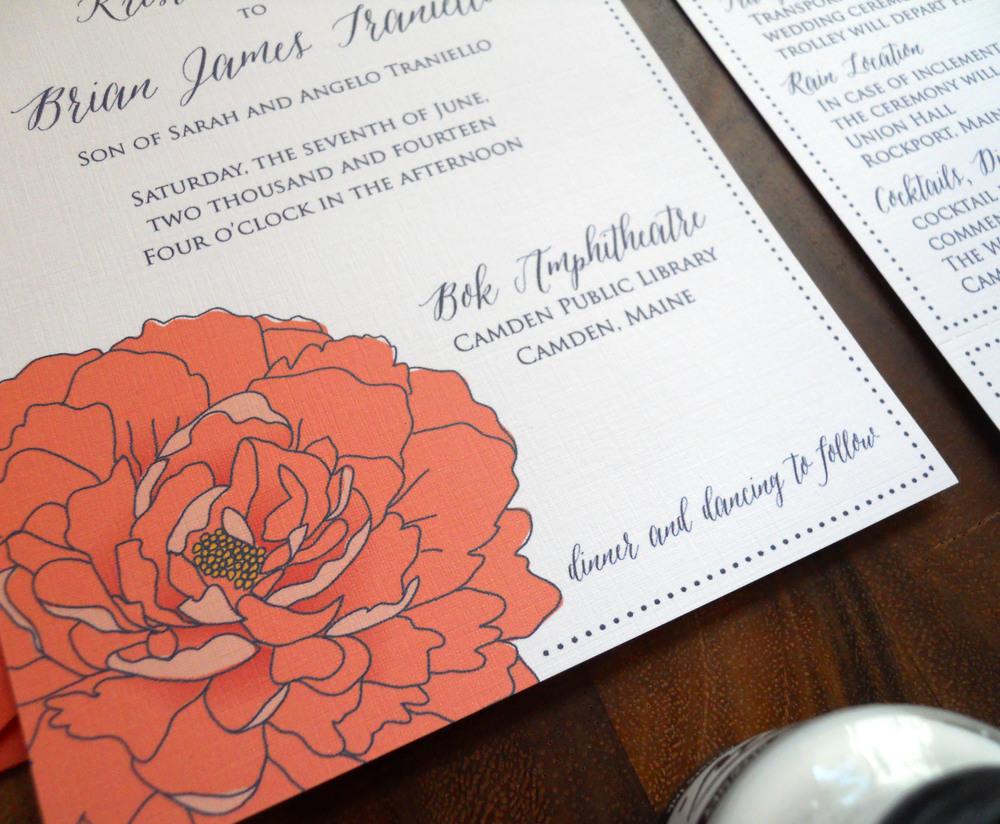 Camden Invitation Detail