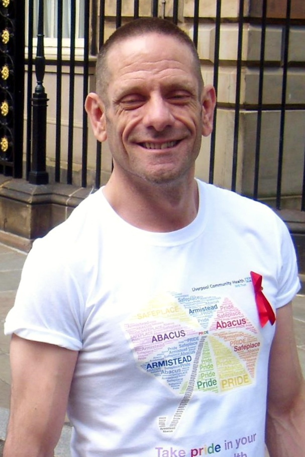 Martin Fenerty at Liverpool Pride 2016