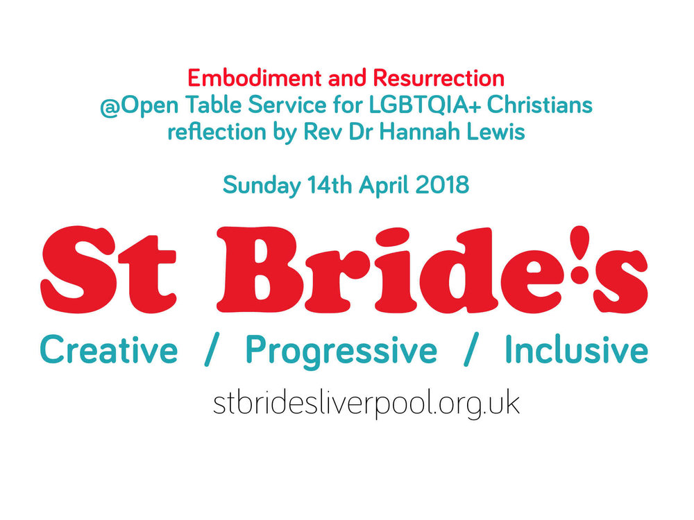 Listen And Reflect St Brides Liverpool - Open table uk