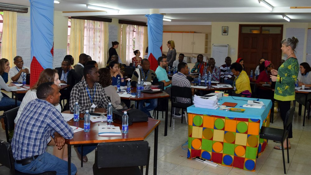 Jesuit Refugee Service mental  health and psychosocial support workshop in Nairobi