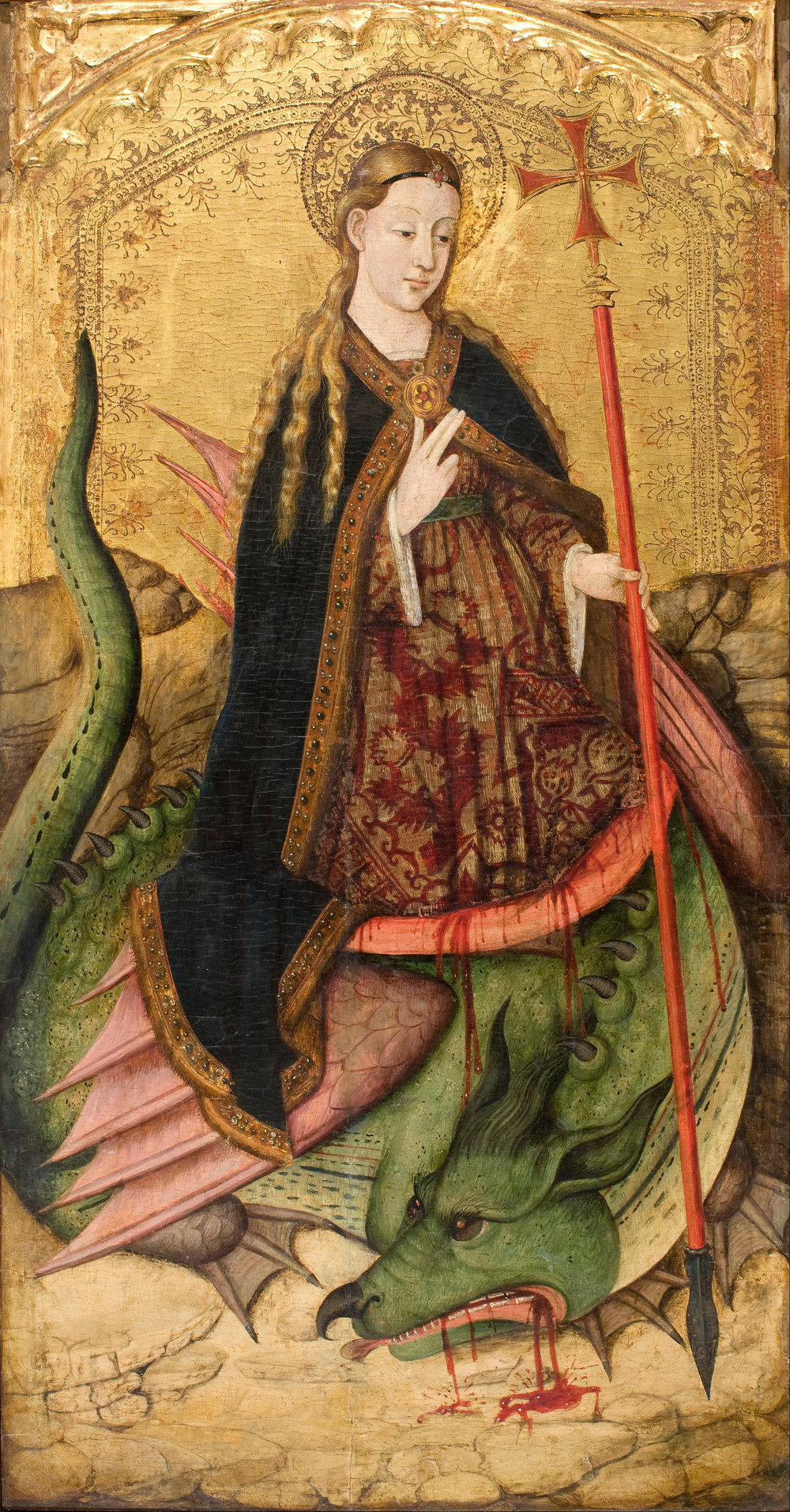 Saint Margaret by Joan Reixach