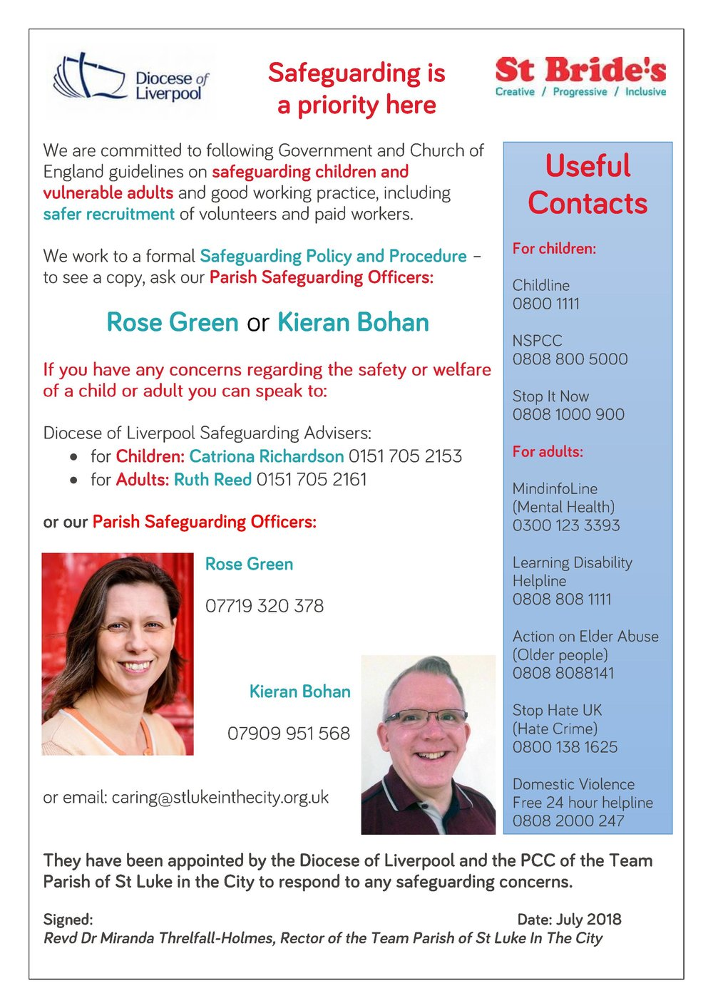 St Bride s safeguarding poster July 2018.jpg