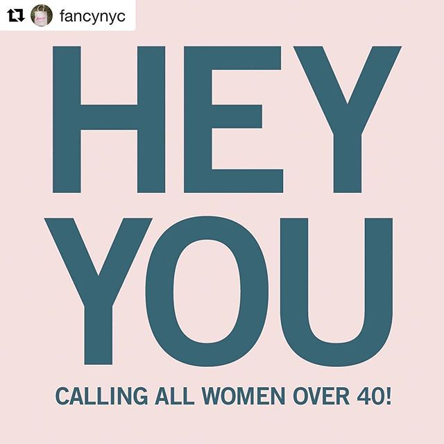 Ladies! @fancynyc wants to hear from you. Help us understand what it's really like to be a woman over 40 and how brands are (or are not) doing right by you. #fancyover40 #Repost @fancynyc (@get_repost) ・・・ We think it's high time marketers started to truly recognize who women over 40 are and who they are becoming.  Take our 15-minute, completely anonymous, survey (link in bio). For every completed response we receive, we will donate $5 to She Should Run.