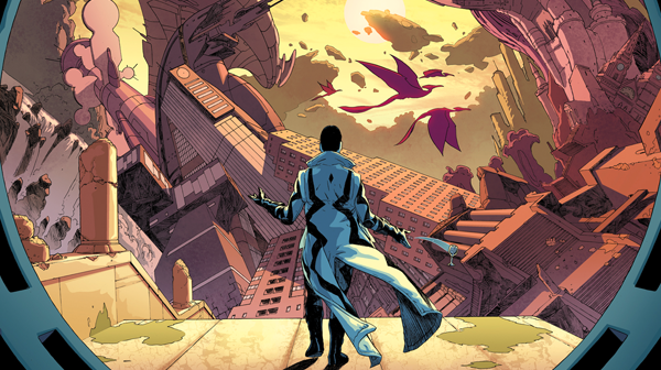 Uncanny x-force #5 - (w) Rick remender (a) esad ribic & john lucas (c) Matt wilson