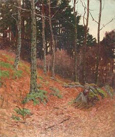 "Ben Foster ""Pines and Rocks"""
