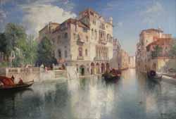 "Thomas Moran ""Venetian Scene"" 1905"