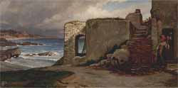 "Elihu Vedder ""House by the Sea"""