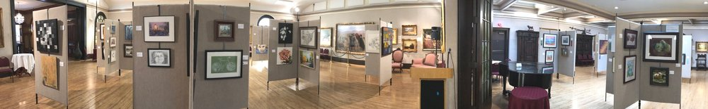 111th Des Moines Women's Club Art Exhibition at Hoyt Sherman Place
