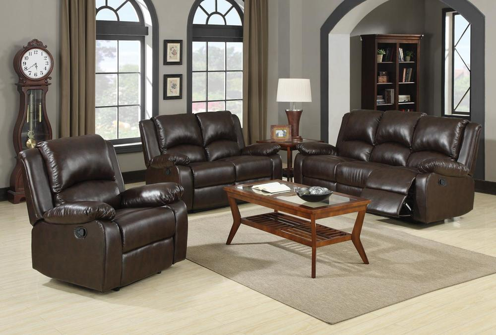 600971 brown relcining set.jpg